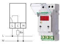 Реле напряжения CP-721-1 Евроавтоматика F&F