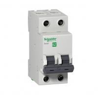 Выключатель автоматический мод. 2п C 6А 4.5кА EASY 9 SchE EZ9F34206