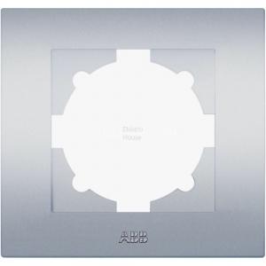 Рамка 1-м Cosmo алюм. ABB 612-011000-271