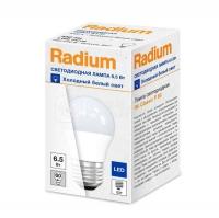 Лампа светодиодная RL-P60 6.5W/840 6.5Вт 4000К бел. E27 550лм 230В FS1 RADIUM 4008597191787