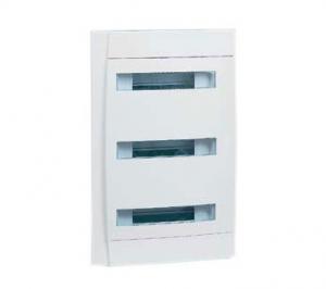 Бокс СП Practibox 3х12 мод. с шинами N и PE IP40 бел/бел. двер. Leg 601119
