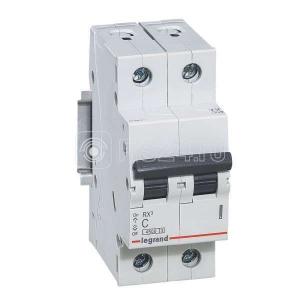 Выключатель автоматический модульный 2п C 16А 4.5кА RX3 Leg 419697