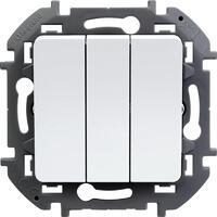 Механизм выключателя 3-кл. Inspiria 20А IP20 250В 10AX