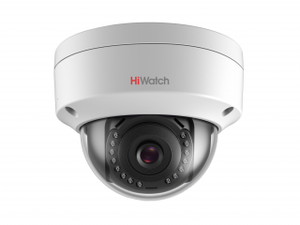 Камера-IP DS-I202 2Мп уличная купольная мини с ИК-подсветкой до 30м HiWatch