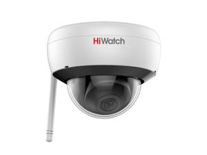 Камера-IP DS-I252W (4мм) 2Мп внутренняя купольная c EXIR-подсветкой до 30м и WiFi HiWatch