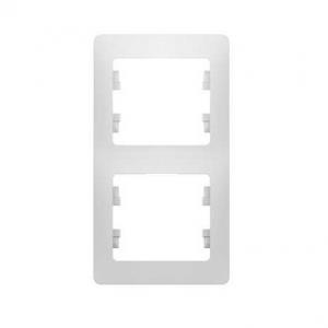 Рамка 2-м Glossa вертикальная
