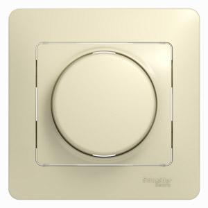 Светорегулятор СП 600Вт/ВА GLOSSA универс. беж. SchE GSL000236
