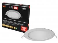 LED панель встраиваемая SuperSlim Round 8W 6500K, 120мм