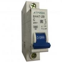 Выключатель автоматический ВА 47-29 1P хар.С.