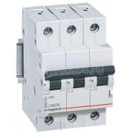 Выключатель автоматический модульный 3п C 63А 4.5кА RX3 Leg 419714