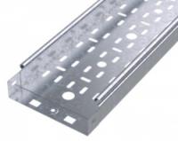Лоток листовой 300х50 L3000 сталь 0.7мм S3 ДКС