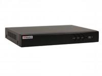 Видеорегистратор DS-N304P(B) 4канальный с 4PoE интерфейсами HiWatch