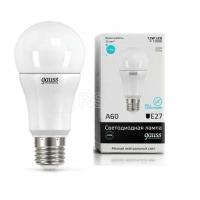 Лампа светодиодная LED Elementary A60 12Вт E27 4100К 1/10/40 Gauss 23222