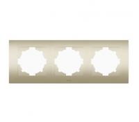 Рамка 3-м Cosmo титаниум ABB 612-011400-227