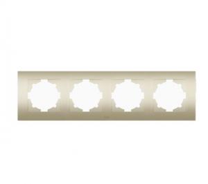 Рамка 4-м Cosmo титаниум ABB 612-011400-228