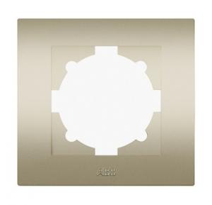 Рамка 1-м Cosmo титаниум ABB 612-011400-271