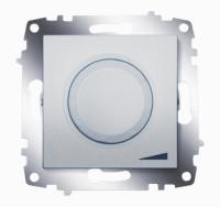 Механизм светорегулятора Cosmo 800Вт поворот. с подсветкой алюм. ABB 619-011000-192