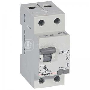 Выключатель дифференциального тока (УЗО) 2п 25А 30мА тип AC RX3 Leg 402024