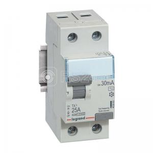 Выключатель диф. тока 2п 25А 30мА тип AC TX3 Leg 403000