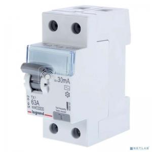 Выключатель диф. тока 2п 63А 30мА тип AC TX3 Leg 403002