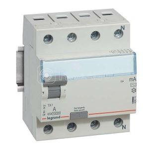 Выключатель диф. тока 4п 63А 30мА тип AC TX3 Leg 403010