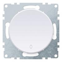 Механизм переключателя 1-кл. СП Florence бел. OneKeyElectro 1E31401300