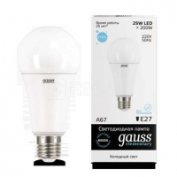 Лампа светодиодная LED Elementary A67 25Вт E27 6500К Gauss 73235
