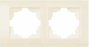 Рамка 2-м Cosmo крем. ABB 612-010300-226