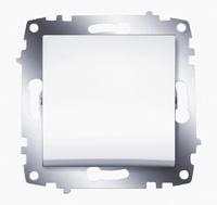 Механизм выключателя 1-кл. Cosmo бел. ABB 619-010200-200