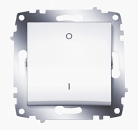 Выключатель Cosmo 2п бел. ABB 619-010200-269