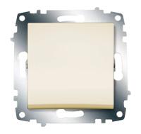 Механизм выключателя 1-кл. Cosmo крем. ABB 619-010300-200