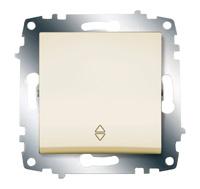 Механизм переключателя 1-кл. Cosmo схема 6 крем. ABB 619-010300-209