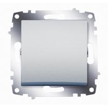 Механизм выключателя 1-кл. Cosmo алюм. ABB 619-011000-200