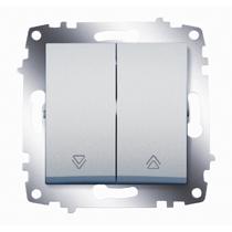 Выключатель 2-кл. Cosmo для управления жалюзи алюм. ABB 619-011000-216
