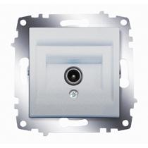 Механизм розетки TV Cosmo без потерь с экранированием алюм. ABB 619-011000-274