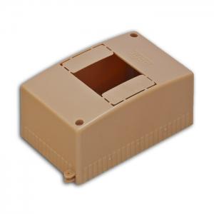 Бокс ОП Тусо 4мод. IP30 коричн. Рувинил 68024К