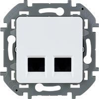 Механизм розетки компьютерной RJ45 2-м Inspiria CAT.6 UTP