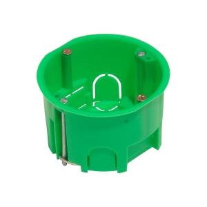 Коробка уст. СП 68х45 для гипсокарт. с метал. лапками HEGEL КУ1202