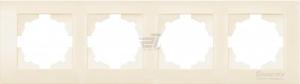 Рамка 4-м Cosmo крем. ABB 612-010300-228