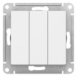 Механизм выключателя 3-кл. ATLAS DESIGN 10А