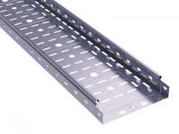 Лоток листовой 100х50 L3000 сталь 0.6мм S3 ДКС