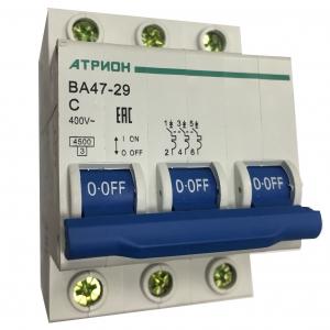 Выключатель автоматический ВА 47-29 3P хар.С.