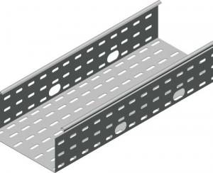 Лоток листовой 150х50 L3000 сталь 0.6мм S3 ДКС