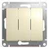 Механизм выключателя 3-кл. СП GLOSSA