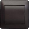 Выключатель 1-клавишный СП GLOSSA