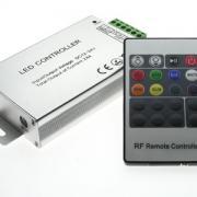 Контроллер RGB LN-RF20B 24A (12-24V, 288-576W, ПДУ)
