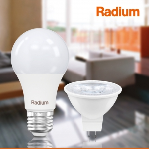 Лампа светодиодная RLA75 10W/830 10Вт 3000К тепл. бел. E27 700лм 230В FR FS1 RADIUM 4008597191633